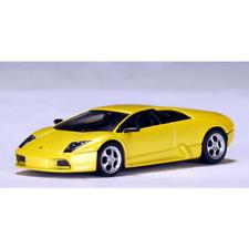 AutoArt – 1/43 Scale – Lamborghini MURCIELAGO in Metallic Yellow Diecast Model