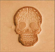Craftool 2D Stamp Sugar Skull 8693-00 by Stecksstore Leather Stamping Tools