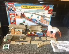 Rare Thomas And Friends Tomy Trackmaster Winter Wonderland Train Set, Working