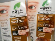 Organic Doctor Snail Gel Eye Serum 0.5 oz eacch (2pk bundle)  fresh & new
