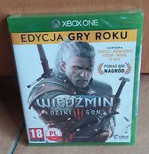Wiedzmin Dziki Gon Witcher Wild Hunt 3 III +16DLC Polnisch XBOX ONE BOX NEU GOTY