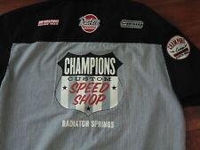 Disney Cars Radiator Springs mens button down shirt small new