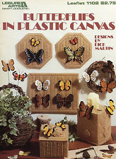 Butterflies ~ 15+ Butterfly Designs & Projects plastic canvas patterns OOP