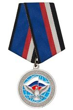 """MODERN RUSSIAN MEDAL """"FOR PARTICIPATION IN PEACEKEEPING MISSION IN SYRIA"""" 2020"""