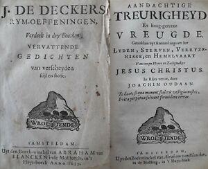 Decker & Oudaan 1659 gedichten Rijmoefeningen