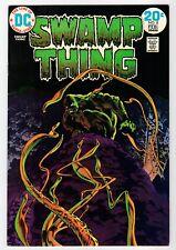 Dc - Swamp Thing #8 - Wrightson Cover & Art - Vg Feb 1974 Vintage Comic