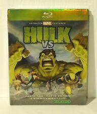 Hulk Vs. (Blu-ray Disc, 2009) NEW with SLIPCOVER - Hulk vs. Thor - vs. Wolverine