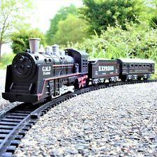 Spielzeug Kinder Eisenbahn Zug Set Neu Batteriebetrieben Starterset Lok Mit Schienen