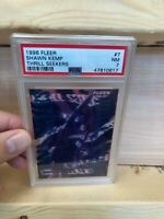Shawn Kemp 1996-97 Fleer Thrill Seekers (PSA 7)  #7 ULTRA RARE