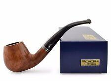 "NEW Briar Wood Tobacco Smoking Pipe bent ""Brandy Y"" slim, wooden, cooler ~ 5"""