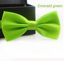 Cravate Homme Garçon Noeud Papillon mariage couleur Vert Clair