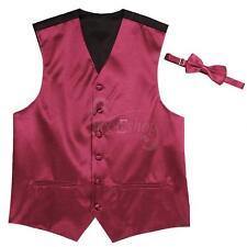 Fashion Men's Formal Party WEdding Dress Suit Tuxedo Waistcoat Coat Vest Tie Set