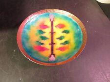 Lovely Enameled Copper Bowl