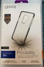 Gear4 Samsung Galaxy S9+ Piccadilly Slim Tough Shockproof Case Clear Black
