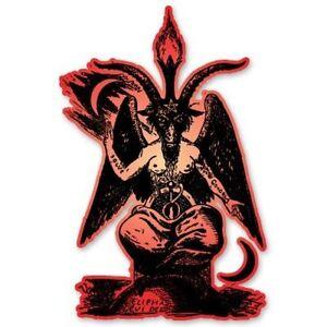 Baphomet Lucifer Devil Car Vinyl Sticker - SELECT SIZE