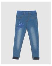 Pantalons bleus pour fille de 6 à 7 ans