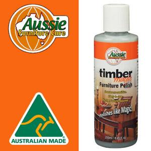 Timber Magic Liquid Beeswax Furniture Wax Polish 250ml