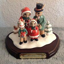 Royal Doulton Merry Christmas Bunnykins Tableau Limited 760 of 2,000 Db 194