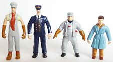 Lionel POLAR EXPRESS G GAUGE Train PEOPLE FIGURE PACK Hand Painted Set 7-11484