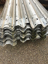 Motorway Crash Barriers Very Good Quality Galvanised Reclaimed Armco Fencing