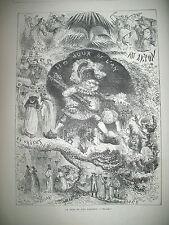 JOUR DE L'AN SOUVENIRS DE L'ANNéE INDE PRINCE DE GALLES SKATING-RING PATIN 1876