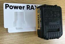 Lock in Dewalt 18v XR Battery Rack unit, 2 slots tool holder for batteries store