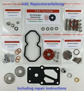 0438140112 Warm up Regulator Repair Kit Porsche 911 3,3 Turbo Wur Regular