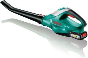 Bosch 06008A0501 Alb 18 Li 2,5 Ah Souffleur À Batterie Ou Câble, Noir/Vert 18 V