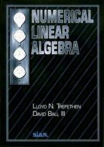 Numerical Linear Algebra, Bau  III, David,Trefethen, Lloyd N., New condition, Bo