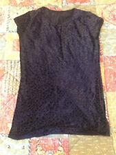 Black Milk Clothing Burned Cheetah Tee Size XXS Blackmilk