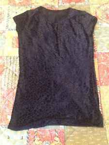 Black Milk Clothing Burned Cheetah Tee Size XXS Blackmilk