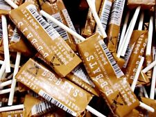 BB Bats Chocolate Taffy On A Stick 1 POUND Bulk 1920's Candy FREE SHIPPING