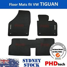 Premium Quality All Weather Rubber Floor Mats for VW Tiguan  5N 2007~ Aug.2016