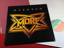 Warhead  MORE  -  LP Atlantic ATL 50775 Germany 1981 near mint