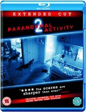 Paranormal Activity 2: Extended Cut [Blu-ray] [Region Free] [DVD][Region 2]