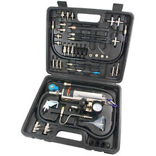Injector Cleaner & Tester Plus Petrol Fuel System Tester Universal Tool Kit