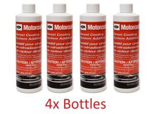 Motorcraft VC8 Coolant Additive Diesel Cooling System Additive 16 Oz 4 Bottles