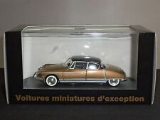 NOREV V4147 CITROEN DS CHAPRON LE PARIS GOLD DIECAST MODEL CAR