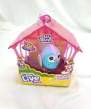 Little Live Pets, Lil' Bird & Bird House -Talking & Moving Bird, Records Voice