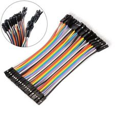 New Listingto Female Diy Breadboard Jumper Wire Connector Dupont Cable Electronic Kit