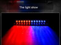 12 LED Windshield Strobe Emergency Flash Warning Visor Bright Light Bulb Lamp UK
