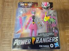 "Power Rangers Dino Fury Pink Ranger w/ Key 6"" Action Figure Hasbro RARE IN HAND!"
