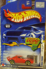 2002 Hot Wheels First Editions #037 Red Lancia Stratos ML Pr5g diecast 4+ Boys