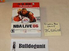 NBA Live 06 Nintendo Ps2 Dwayne Wade Game Box Store Display 7.5X5.25X1.25