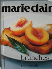 "MARIE CLAIRE / STYLE ""BRUNCHES"" COOKBOOK by JODY VASSALLO ~ NEW ~ **FREE POST**"
