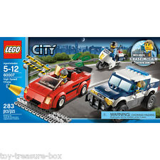 LEGO City - Model # 60007 - High Speed Chase - 283 piece set - Age 5 -12 Y