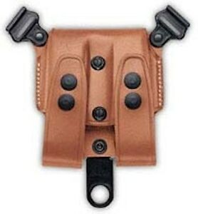 Galco SCL Mag Case For System Tan 9/40/357 Double Stack Mags SCL24