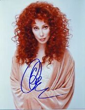 1990S Autographed 8X10 *Cher* Color Photo Must See Signed! Reprint Free S&H