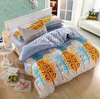 Tree Forest Single Double Queen King Bedding Set Pillowcases Quilt Duvet Cover