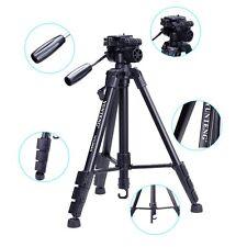 aluminum Pro Camera Camcorder Binoculars DV Tripod Damping Head + Bag